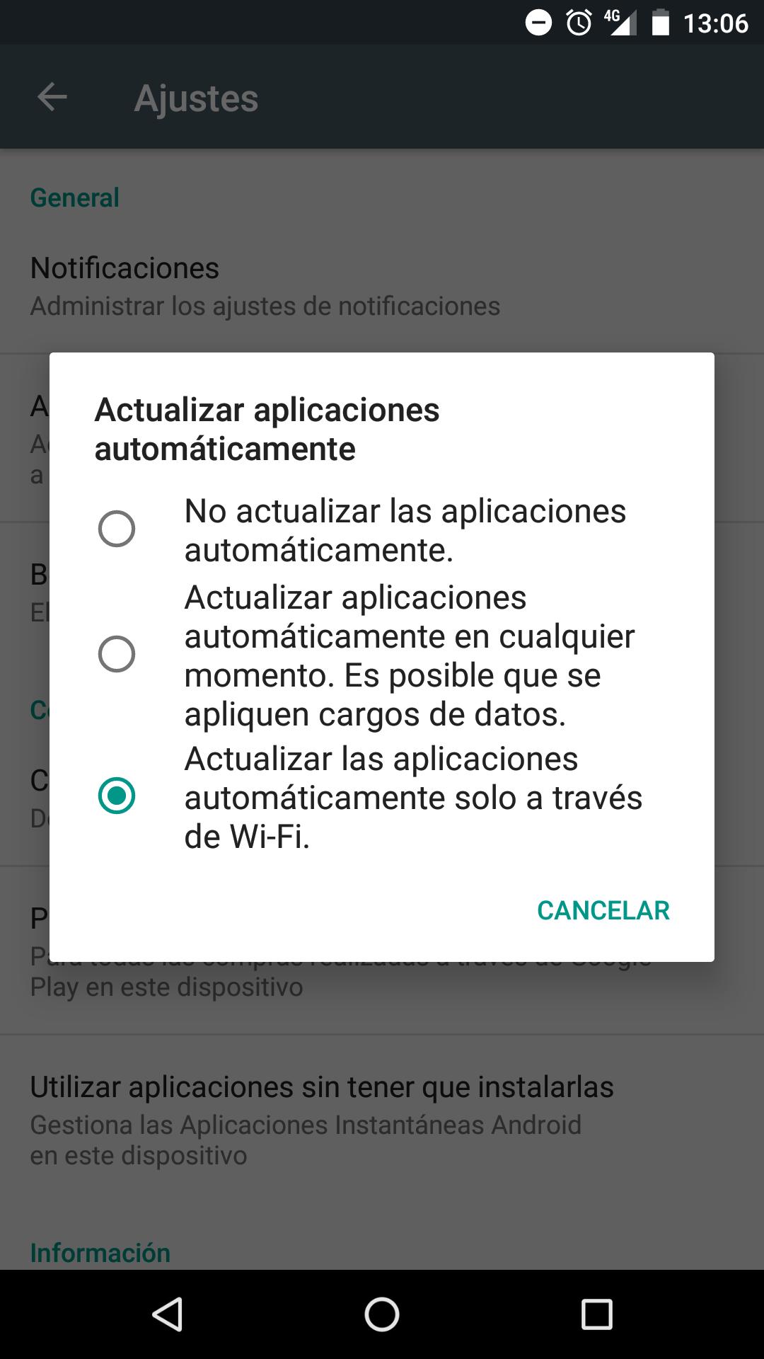 Ahorrar datos móviles