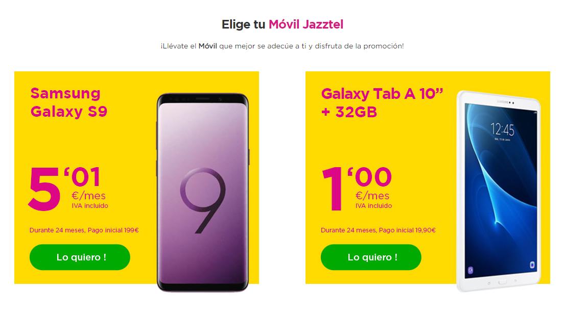 Jazztel Smartphones Black Friday