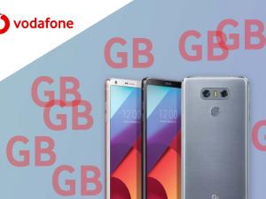 Vodafone regala GB con la compra de smartphones