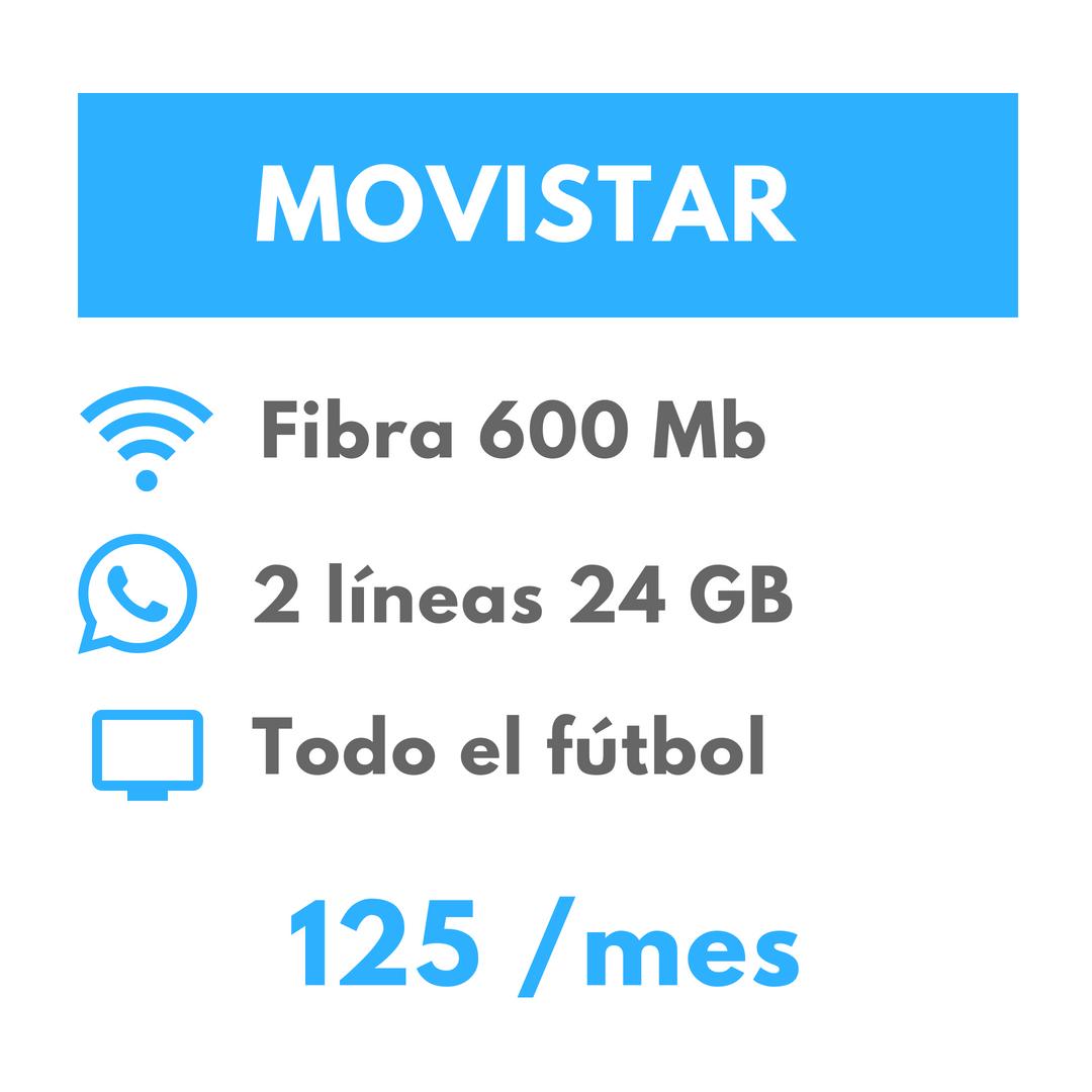 Oferta fútbol Movistar
