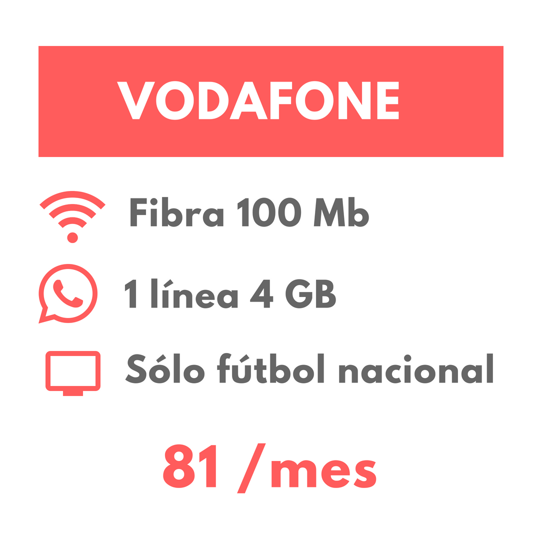Oferta Fútbol Vodafone