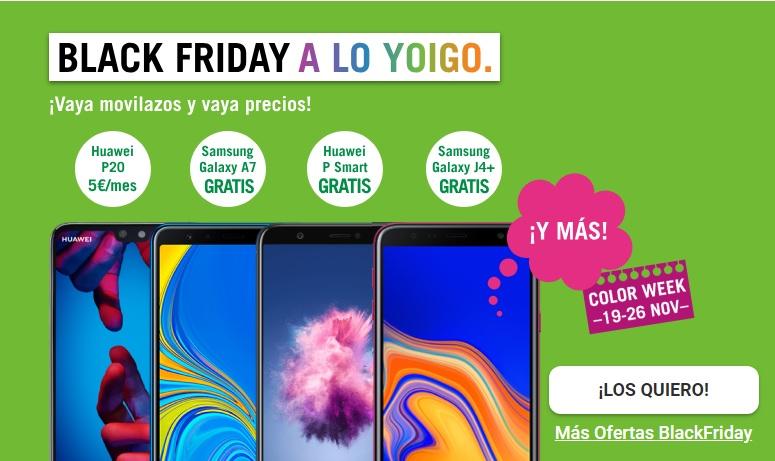 Black Friday Yoigo 2018